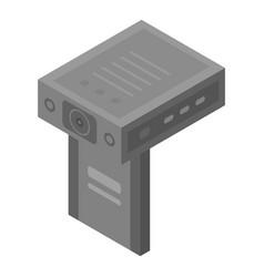 Car dvr icon isometric style vector