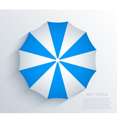 creative umbrella background Eps10 vector image