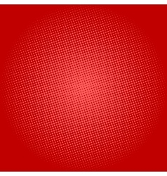 Dots on Red Background Pop Art Background vector