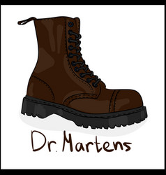 drmartens vector image
