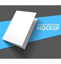 Mockup on transparent background vector