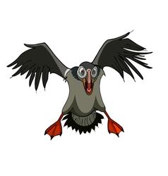 bird terrible attacks vector image vector image