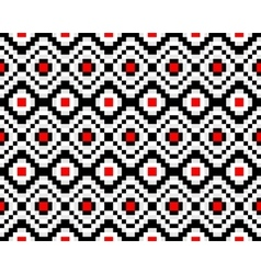 Trendy seamless ethnic pattern vector image