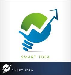 finance idea vector image vector image