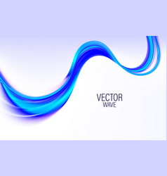 abstract template background with blue vector image