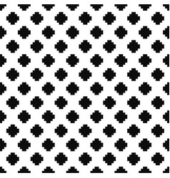 dotted seamless pattern - textile design vector image
