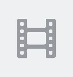 film symbol icon vector image