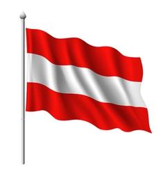 Flag austria vector