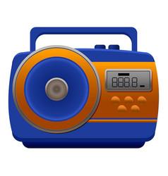 fm digital radio icon cartoon style vector image