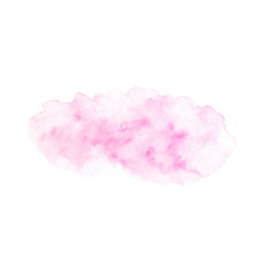 hand painted pink soft texture isolated vector image