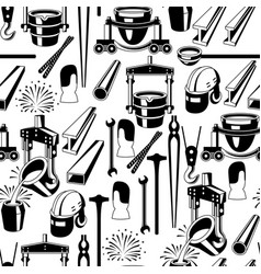 Metallurgical seamless pattern vector