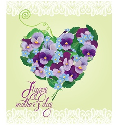 mother day card 3 380 vector image