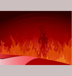 Road to hell vector