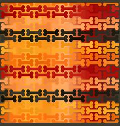 Striped glowing bone pattern seamless background vector