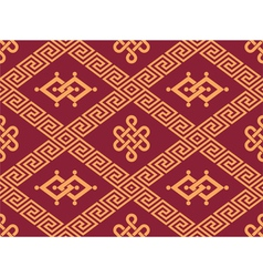 Oriental Seamless Tile - Traditional Pattern vector image vector image