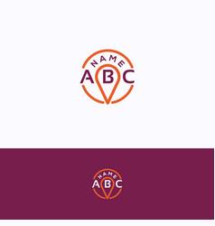 Abc logo vector