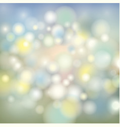 Abstract blur background splash lights and vector