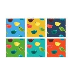 Bird Patterns vector image