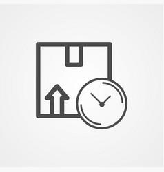 cargo box icon sign symbol vector image