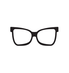 Glasses graphic design template isolated vector