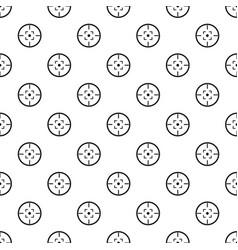 gun target pattern seamless vector image