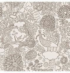 Hand drawn doodles vector