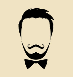 hipster vector image