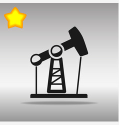 Oil rig pump vector