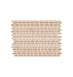 part of the castle wall vector image