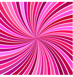 pink hypnotic abstract striped swirl background vector image
