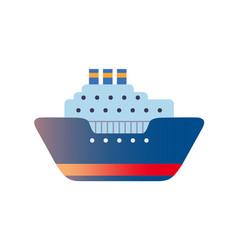 Sea travel transport vector