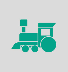 Train toy ico vector