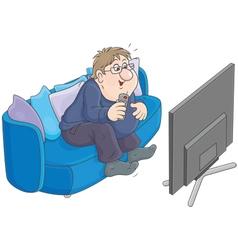 TV viewer vector