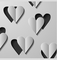 With valentine heart vector