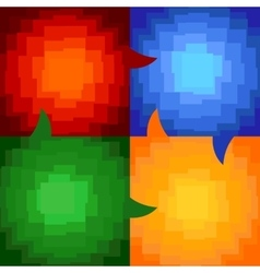 squares abstract vector image