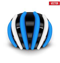 mountain bicycle helmet vector image