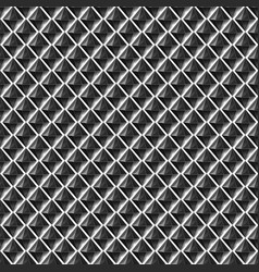 repeat black and white pattern with crystals vector image vector image