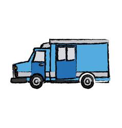 Ambulance car auto paramedic emergency vehicle vector