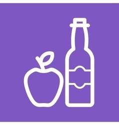 Apple Cider vector image