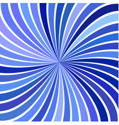Blue abstract hypnotic swirl stripe background vector
