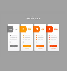 Infographic design for process chart business vector