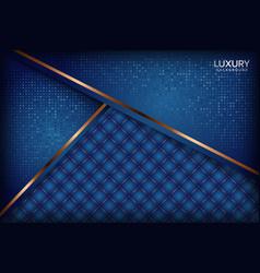 Luxurious navy royal blue elegant background vector