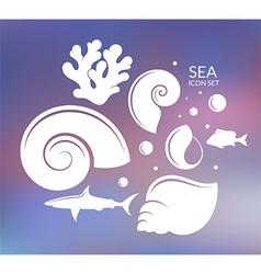 Ocean Reef vector image