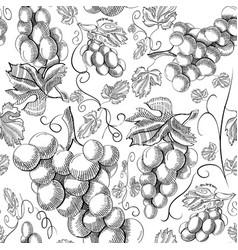Organic natural fruit seamless pattern vector