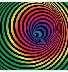 Rainbow tunnel vector