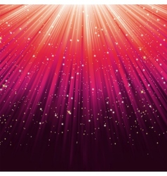 Star light sparkles background vector