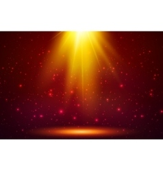 Red magic top light background vector image vector image