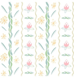 art background flowers color vector image vector image