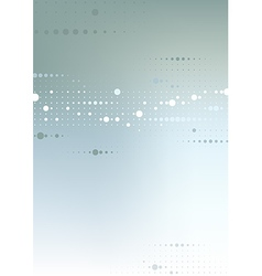 Abstract Dotted Tech Background vector