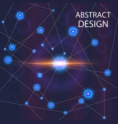 Abstract shine vector